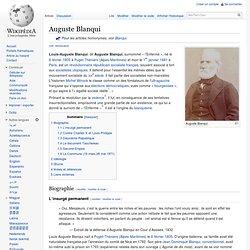 Auguste Blanqui inspirateur de Mussolini