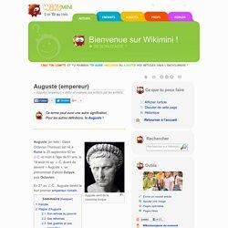 Auguste (empereur)