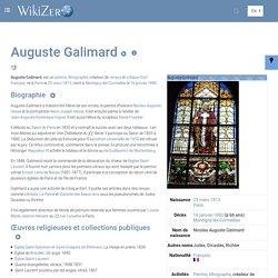 Auguste Galimard