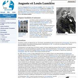 Auguste et Louis Lumière - Productions de 1895