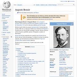 Wikipedia : Auguste Renoir