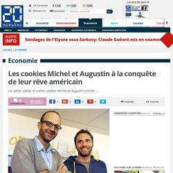 Les cookies Michel et Augustin à la conquête de leur rêve américain