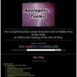 Augustine Club Apologetics Toolkit