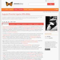Augusto Pinochet Ugarte (1915-2006)