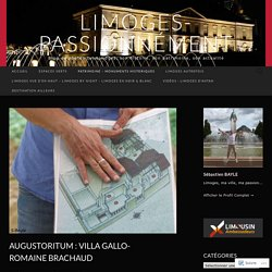 Augustoritum : villa gallo-romaine Brachaud