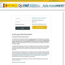 """Curso """"Recursos para el aprendizaje en línea""""-INTEF (precisa login)"""