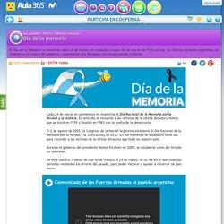Día De La Memoria - aula365.com
