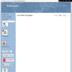 AulaQuijote - La Unión Europea