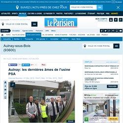 Aulnay: les dernières âmes de l'usine PSA