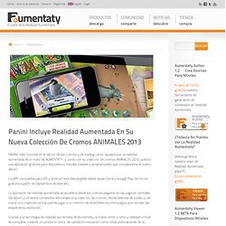 Panini incluye RA en su nueva colección de cromos ANIMALES 2013