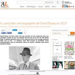 Il y aura bien une biographie de David Bowie, en 2017