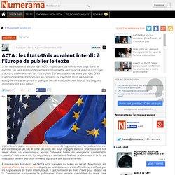 USA interdiction publication TEXTE