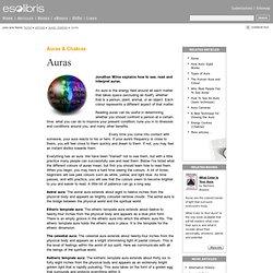 Auras and Chakras - Auras