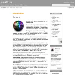 Auras and Chakras - Auras