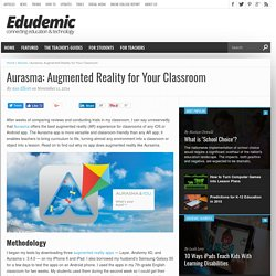 Aurasma: Augmented Reality for Your Classroom
