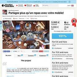 AurelDaniel présente Partagez plus qu'un repas avec votre mobile!