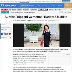High-Tech : Aurélie Filippetti va mettre l'Hadopi à la diète