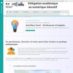 Aurélien Nozé - Professeur d'anglais