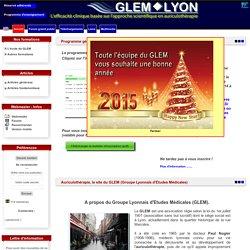 Auriculothérapie, le site du GLEM (Groupe Lyonnais d'Etudes Médicales)