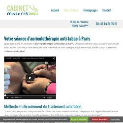 Auriculothérapie anti tabac Paris : traitement anti tabac - Cabinet Marcris