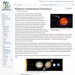 Wikijunior Aurinkokunta/Tulostettava – Wikikirjasto