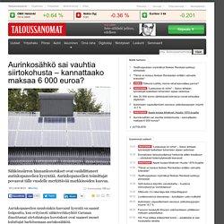 Caruna-tapaus toi piikin aurinkopaneelien kysyntään