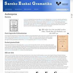 Sareko Euskal Gramatika