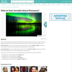 Aurora Natural Phenomenon