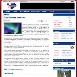 Les aurores boréales : Article Islande, tout sur Les aurores boréales