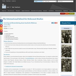 Auschwitz-Birkenau - Lesson Plans - Education & E-Learning