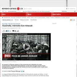 Auschwitz, notre devoir de mémoire