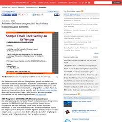 Antiviren-Software ausgespäht: Auch Avira möglicherweise betroffen