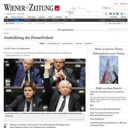 Polen: Aushöhlung der Pressefreiheit