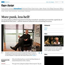 More punk, less hell! - News Ausland: Europa