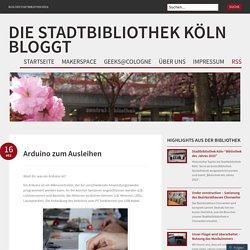 die Stadtbibliothek Köln bloggt