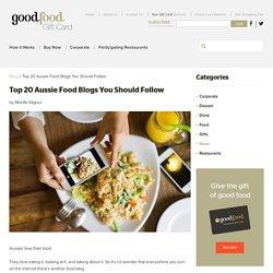You Should Follow Top 20 Australian Food