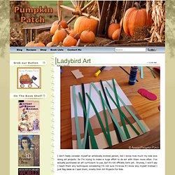 Aussie Pumpkin Patch: Ladybird Art