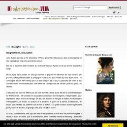 Jane Austen (Biographie)