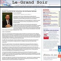 Quand l'austérité fait le bonheur de Guillaume Sarkozy