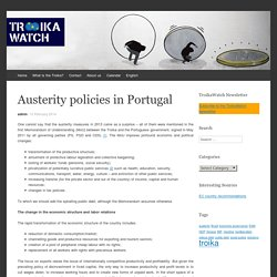 Austerity policies in Portugal