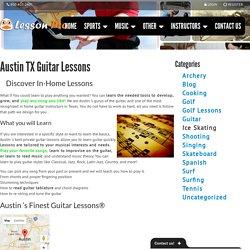 Austin TX Guitar Lessons