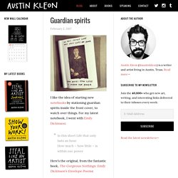 AUSTIN KLEON is a writer who draws.