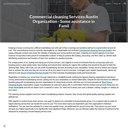 austinhomecleaning.com - Commercial cleaning Services Austin Organization - Some assistance in Famil
