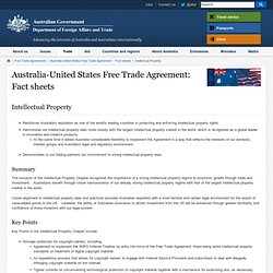 Pressure from US on AUS to enact similar law