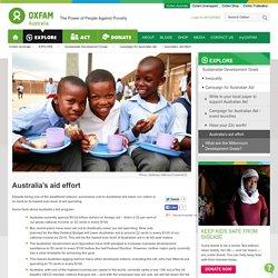 Australia's aid effort