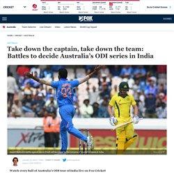 Australia vs India ODI 2020: Battles to decide One Day cricket series, analysis, fixtures, video, Virat Kohli