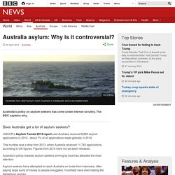 Australia asylum: Why is it controversial?