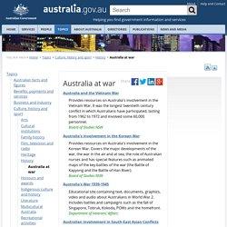 Australia at war
