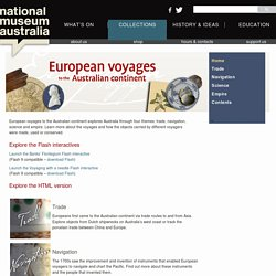 European voyages to the Australian continent HTML version