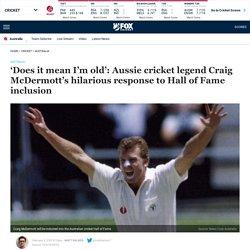 Cricket Australia, Australian cricket hall of fame, Craig McDermott, Sharon Tredrea, Australia cricket awards night, Allan Border Medal